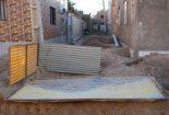 گلایه شهروندان بافقی از پیمانکار طرح فاضلاب شهری/پاسخ+تصاویر