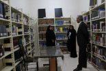 بازدید معاون فرماندار بافق از کتابخانه محمد مفیدی شهرستان بافق