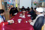 جلسه کمیته کودک و نوجوان فجر۳۹در محل کانون پرورش فکری کودکان و نوجوانان شهرستان بافق برگزار گردید