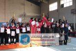 کسب مقام سوم تیمی مسابقات ژیمناستیک کشور توسط دختران بافقی