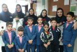 دانش آموزان مدرسه سما از پرستاران قدردانی کردند
