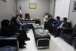 برگزاری جلسه هم اندیشی رئیس هئیت ورزش روستایی و بازیهای بومی محلی با رئیس اداره ورزش و جوانان شهرستان بافق