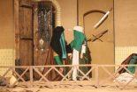 اجرای نمایشنامه داغ مسمار در تالار رضوی مشهد مقدس