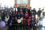پیاده روی پدران و پسران در مدرسه پسرانه سما دانشگاه آزاد اسلامی بافق