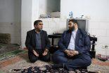 بازدید رئیس شورای هماهنگی تبلیغات اسلامی ومدیر کمیته امداد از خانواده مددجویان تحت حمایت این نهاد+تصاویر
