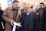 دیدار نمایندگان خانواده شهدا با استاندار در خصوص ابهامات مرزی بافق و اردکان