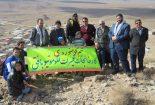 مراسم کوهنوردی به مناسبت ایام الله فجر به میزبانی شورای اسلامی روستای کوشک