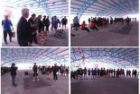 برگزاری مسابقات پنج گانه نیرو و نشاط ویژه کارکنان کارخانجات تعمیر لکوموتیو بافق