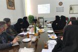 جلسه شورای ارتقای سلامت در دانشگاه پیام نور مرکز بافق