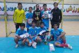 اختتامیه مسابقات قهرمانی فوتسال بسیج جام دهه فجر برگزار شد