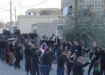 برگزاری مراسم گرامیداشت شهیدان گمنام در مسجد ابوالفضل( ع ) روستای مبارکه