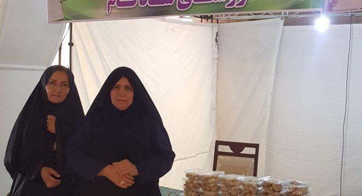 حضور بومگردی سید در جشنواره سفره ایرانی فرهنگ گردشگری
