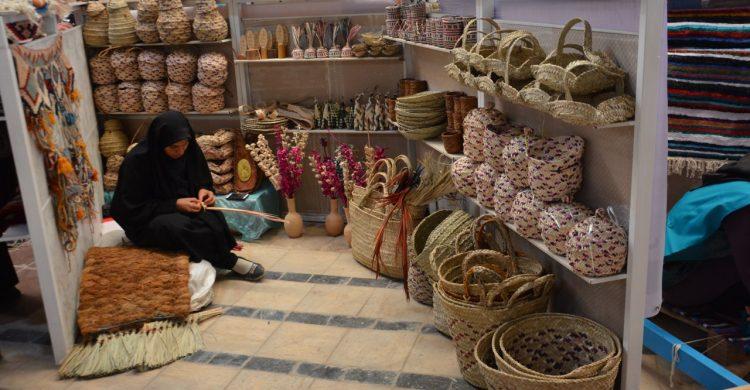 حضور غرفه صنایع دستی بافق در بازارچه صنایع دستی و هنر یزد