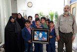 دانش آموزان مدرسه سما،روز شهدا را گرامی داشتند+تصاویر