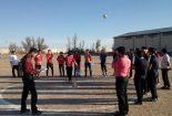 برگزاری مسابقات هفت سنگ در بافق