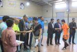 قهرمانی تیم دبیرستان نمونه اندیشه در رقابتهای فوتسال آموزشگاه های متوسطه دوره اول شهرستان بافق
