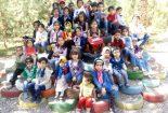 گزارش تصویری بازدید کودکان عضو کتابخانه محمدمفیدی از مدرسه طبیعت باغ گیلو