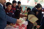برپایی بازارچه کار وفناوری به همت دبیرستان شهید کارگران