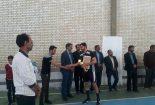 برگزاری مسابقات والیبال منطقه سبزدشت شهرستان بافق _ جام نوروز ۹۷