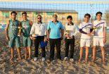 تیم والیبال شهرداری بافق قهرمان مسابقات والیبال ساحلی جام نوروز بافق شد
