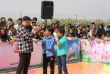 برگزاری مسابقه محله در تفرجگاه آبشار بافق