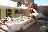 باران شدید شب گذشته به دو منزل در بافق خسارت زد+ تصاویر