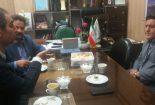 دیدار رئیس اداره ورزش و جوانان بافق با رئیس آموزش و پرورش