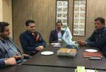 دیدار رئیس اداره ورزش و جوانان با مدیران پروژه شرکت توان دیزل سازگار بافق