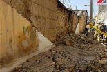 ریزش دیوار بر روی دو کارگر ساختمان در بافق