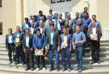 تجلیل از ۵۵ نفر از اعضای تشکل های کارگری و کارگران نمونه شهرستان بافق