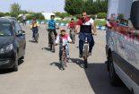 برگزاری همایش دوچرخه سواری در بافق