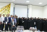 جلسه مدیران مدارس ابتدایی و متوسطه دوره اول در کتابخانه عمومی محمد مفیدی بافق برگزار شد