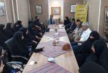 برگزاری نشست هم اندیشی هنرمندان فعال صنایع دستی با مسوولین شهرستان بافق