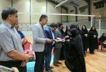 برگزاری رده بندی، فینال و مراسم اختتامیه دومین دوره مسابقات والیبال بانوان جام رمضان شهرستان بافق