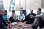 هم اندیشی برای حل مشکلات روستای صادق آباد با حضور بخشدار بافق در جلسه شورای این روستا