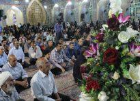 برگزاری برنامه زیر سایه خورشید در آستان مقدس امامزاده عبدالله(ع) بافق به روایت تصویر