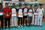 سکوی نائب قهرمانی مسابقات تکواندو چهارمین المپیاد دارالعباده استان یزد به بافقی ها رسید