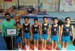کسب مقام سوم تیم ژیمناستیک شهرستان بافق در مسابقات دارالعباده استان یزد