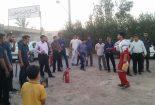برگزاری دوره آموزشی تکمیلی امداد و نجات در بافق