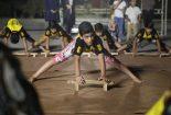اجرای ورزش زورخانه ای در تفرجگاه آبشار بافق
