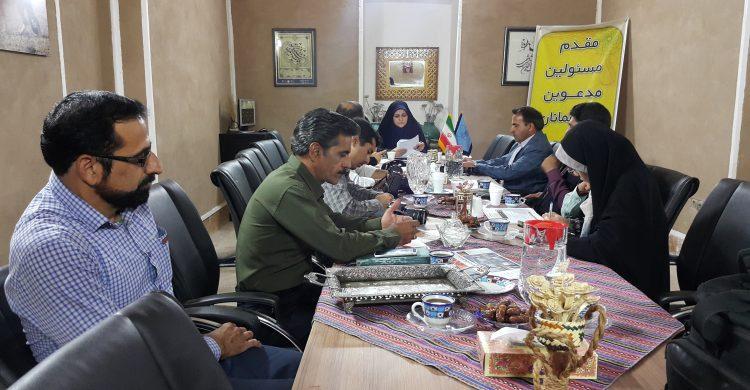 نشست خبری رئیس نمایندگی میراث فرهنگی شهرستان بافق با اصحاب رسانه