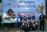 کسب سه مدال رنگارنگ توسط ورزشکاران معلول بافقی در مسابقات کشوری