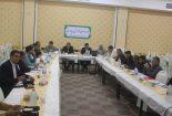 برگزاری یکصد و هشتاد و پنجمین جلسه شورای آموزش و پرورش شهرستان بافق