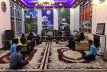 برگزاری جلسه انجمن شعر و ادب وحشى بافقى در منزل مرحوم عباسیان