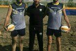 صعود تیم والیبال ساحلی شهرستان بافق به جمع ۸ تیم برتر کشور