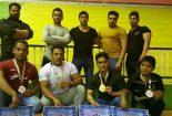 کسب مدالهای رنگارنگ  قهرمانی  استان در مسابقات پرورش اندام توسط ورزشکاران باشگاه امپراطور