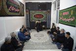 مراسم عزاداری در منزل امام جمعه بافق برگزار شد+تصاویر