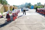 آشنایی دانش آموزان مدرسه آوای علم با وظایف پلیس
