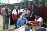 ۱۰۰ نفر از روستائیان کوشک از حضور کاروان سلامت بهره مند شدند