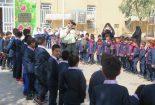 آشنایی دانش آموزان مدارس سما با وظایف نیروی انتظامی